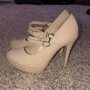 Shoes - Nude High Heels